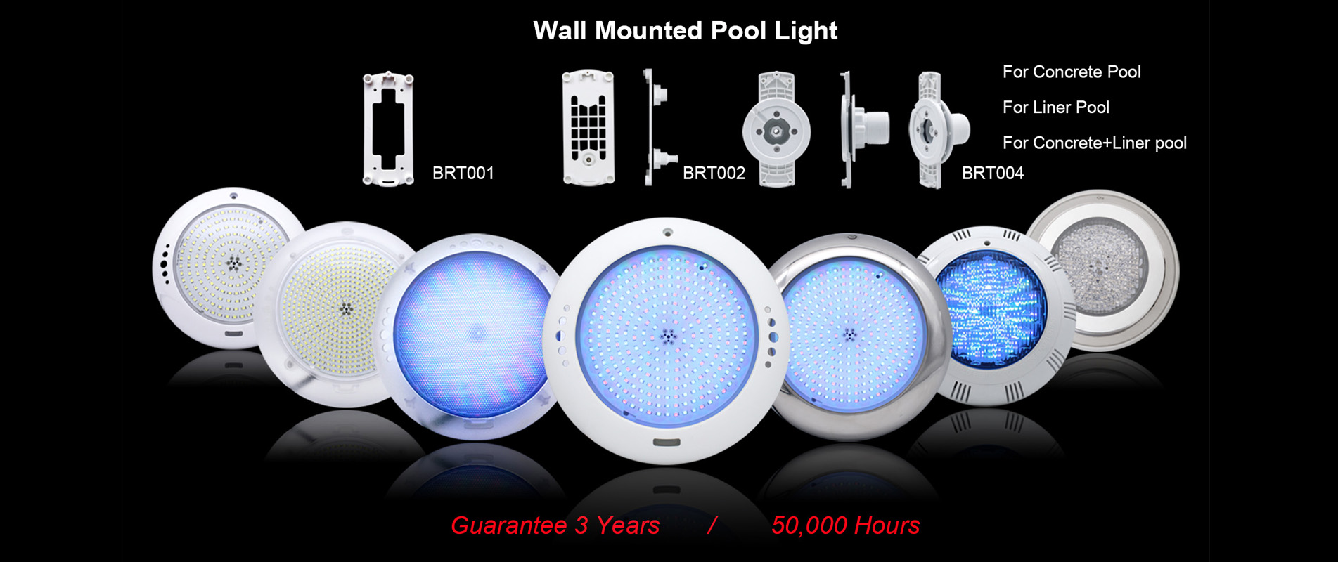 Wall Mounted Pool Lights
